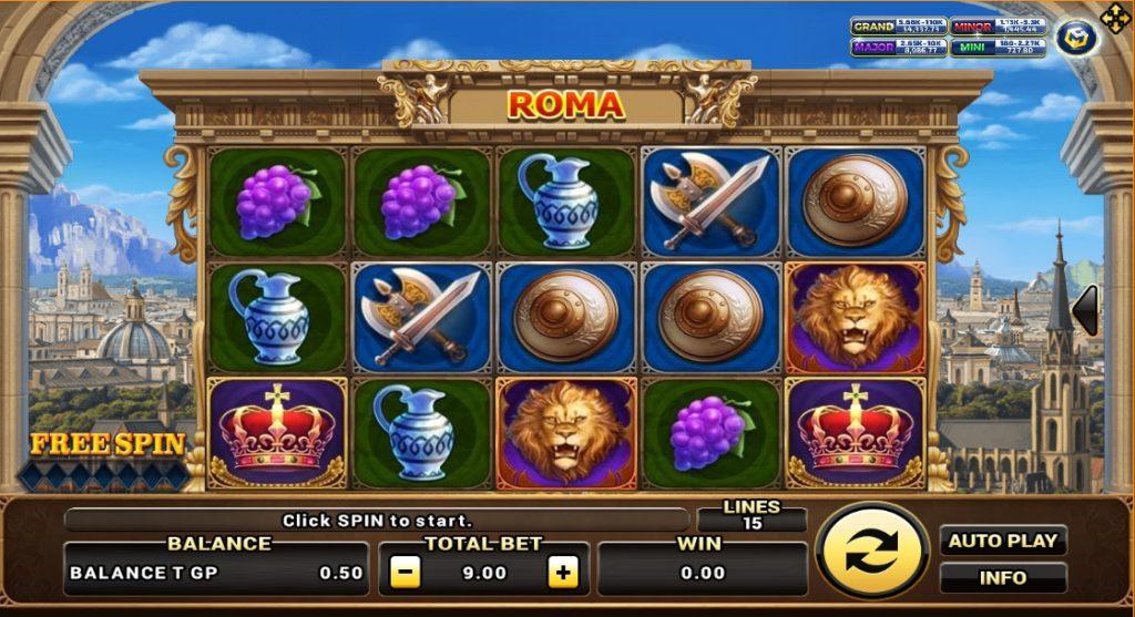 Slot Roma เกมสล็อต